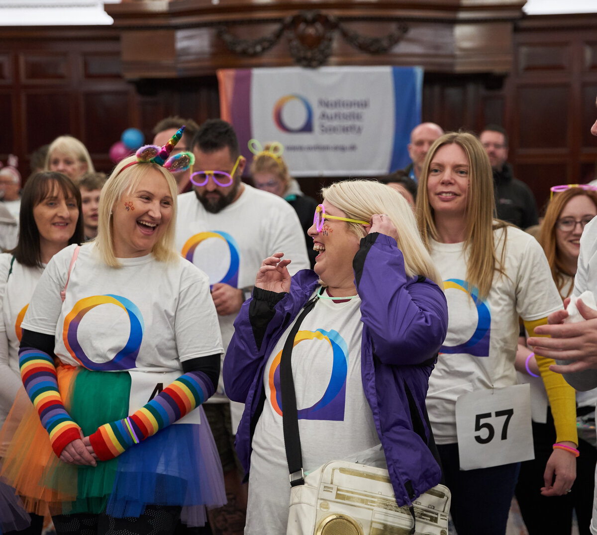 Photo : Copyright © Simon Ridgway, 2019 |www.simonridgway.com |pictures@simonridgway.com | 07973 442527 | Caption : National Autistic Society's Spectrum Night Walk, Cardiff.