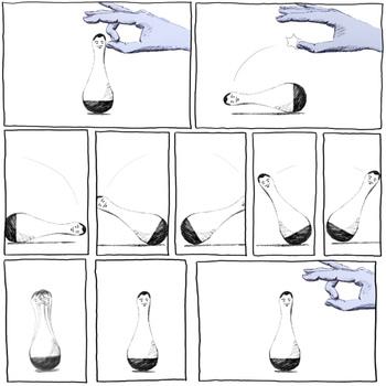 'Flick' - illustration by Tom