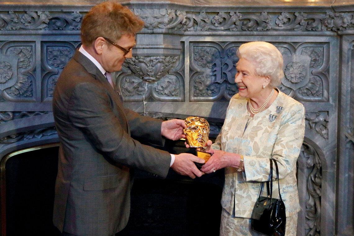 Reception for the British Film Industry, Windsor Castle, Berkshire, Britain - 04 Apr 2013